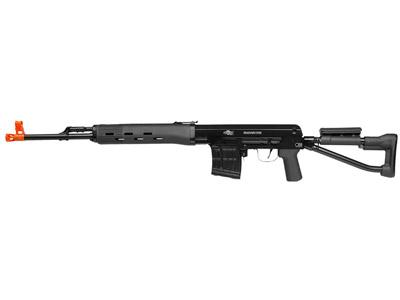 Aftermath Dragunov Airsoft Sniper Rifle, Black