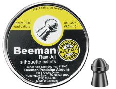 Beeman .20 Ram Jet silhouette pellets (Repackaged)