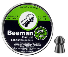 Beeman Ram Jet Silhouette .22 Cal, 14.76 Grains, Round Nose, 200ct