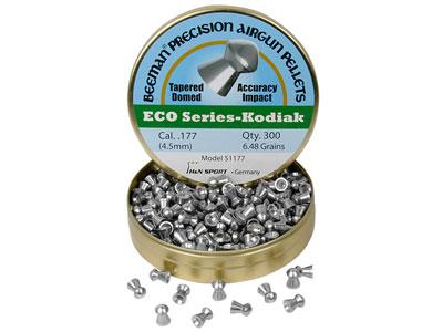 Beeman ECO Kodiak .177 Cal, 6.48 Grains, Domed, Lead-Free, 300ct