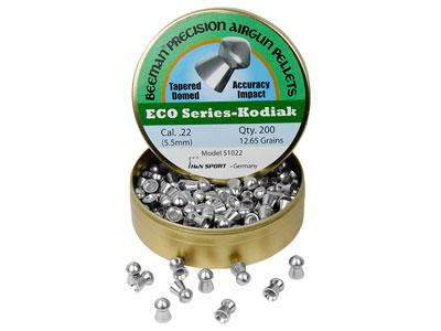 Beeman ECO Kodiak .22 Cal, 12.65 Grains, Domed, Lead-Free, 200ct
