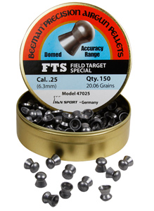 Beeman Field Target Special .25 Cal, 20.06 Grains, Round Nose, 150ct