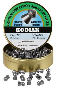 Beeman Kodiak Extra Heavy .22 Cal, 21.14 Grains, Round Nose, 200ct Beeman