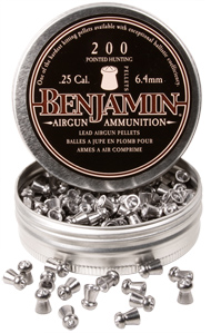 Benjamin Destroyer .25 Cal, 27.8 Grains, Pointed, 200ct