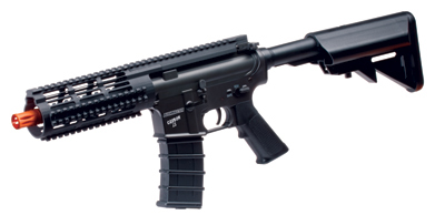 Bushmaster Carbon 15 Electric Submachine Gun