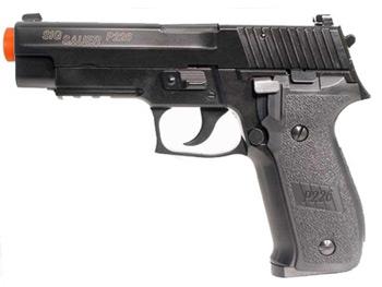 SIG Sauer P226 Full Metal Blow Back Gas Pistol