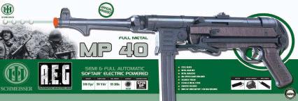 Schmeisser MP40 AEG