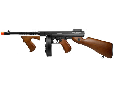 King Arms Thompson M1928 Airsoft Submachine Gun