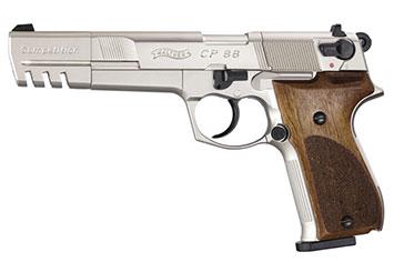 walther cp88 nickel 6 inch barrel co2 pistol air guns rh pyramydair com walther cp88 repair manual Walther P48