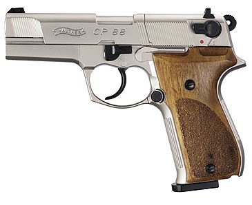walther cp88 nickel 4 inch barrel co2 pistol air guns rh pyramydair com Walther CP88 Parts Walther CP88 Air Pistol