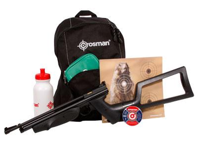 crosman doomsday bug out air rifle kit air rifles
