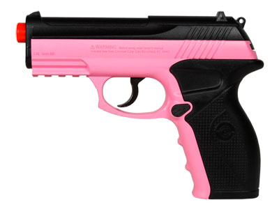 Crosman Air Mag C11 CO2 Airsoft Pistol, Pink
