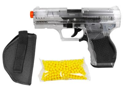 Crosman Stinger P9T Airsoft Pistol Kit Clear/Black