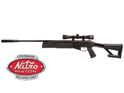 Crosman TR77 Air Rifle Combo, Nitro Piston