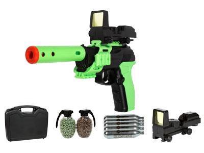 Undead Apocalypse Airsoft Pistol Kit