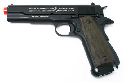 Colt 1911 CO2 Metal Airsoft Pistol