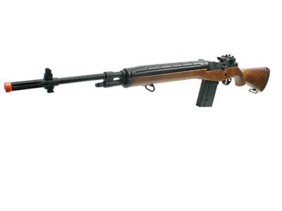 Echo 1 M14 Metal AEG in Wood Color