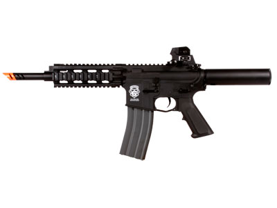 G&G GR16 CQW Wasp EBB Airsoft Gun, Black