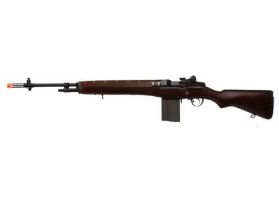 G&G M14 AEG Veteran Airsoft Rifle, Walnut Stock
