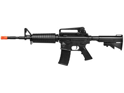 Game Face GFM4 AEG Airsoft Rifle, Black