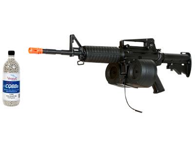 Game Face M4S AEG Airsoft Carbine Kit