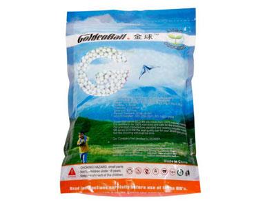 GoldenBall 0.25g Airsoft BBs, 3000 Rds, Light Blue