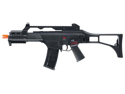 H&K G36C Dual Power Airsoft Rifle, Black