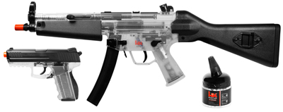 H&K MP5 & P30 Holiday Kit, Clear