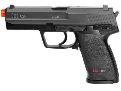 H&K USP Spring Airsoft Pistol, Black