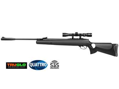 Hatsan 125TH Air Rifle Combo, Black