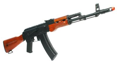 ICS AK74 Wood / Armory USA SSR-85C AEG Package