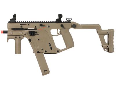 KWA KRISS Vector GBB Airsoft Submachine Gun, Tan