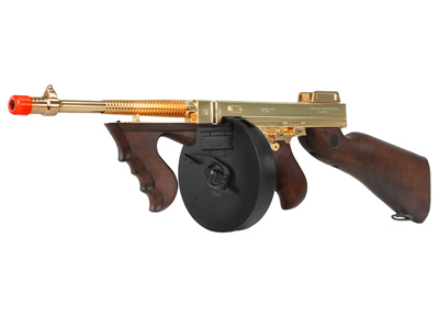 King Arms Thompson M1928 Chicago AEG Airsoft SMG