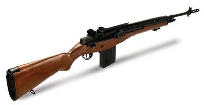 UTG Model 14 AEG Airsoft Rifle - Wood