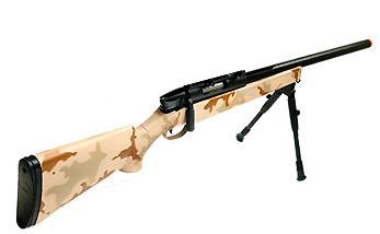 UTG Master Airsoft Sniper Rifle, Desert Camo