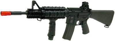 UTG Full Metal Model 4 Tactical AEG Airsoft Rifle