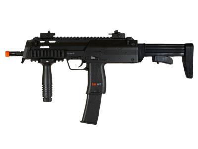 H&K MP7 AEG Airsoft Rifle, Black Kit