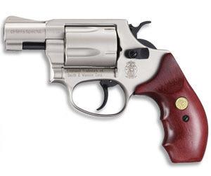 S&W Revolver.