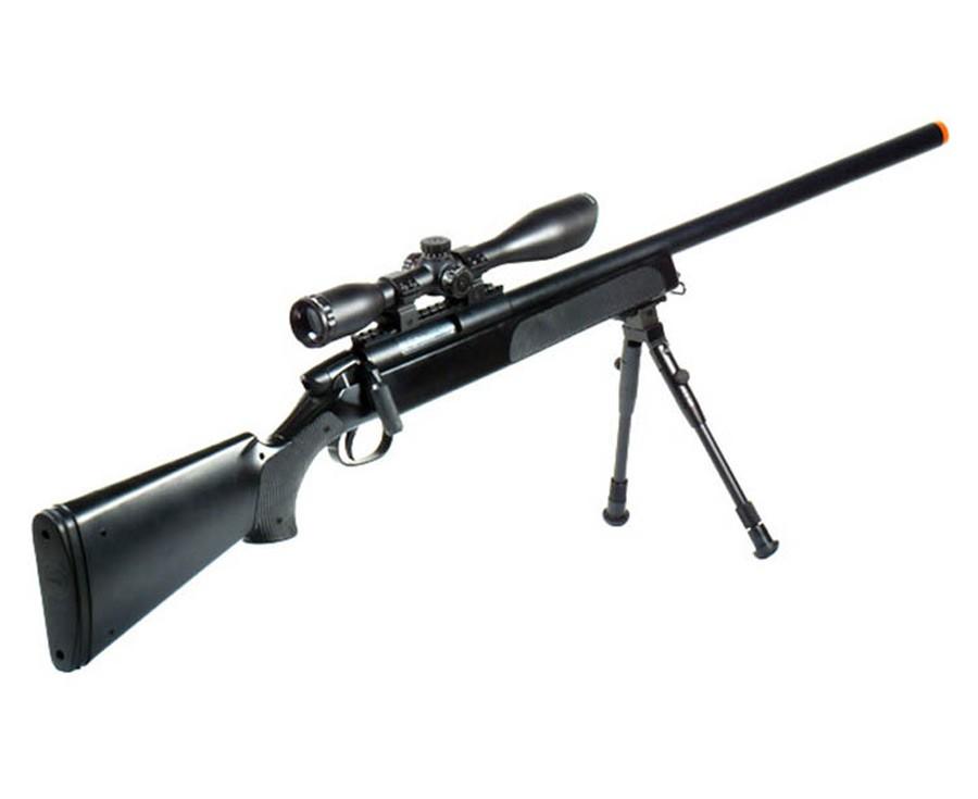 UTG Master Sniper Airsoft Kit, Black