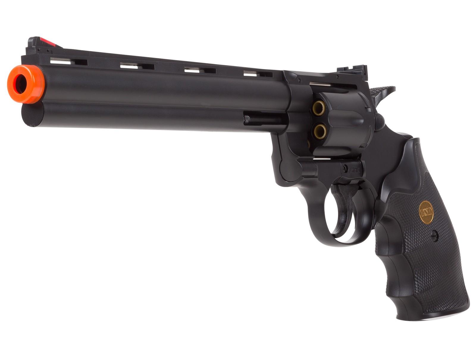 TSD 941 8 inch revolver, Black