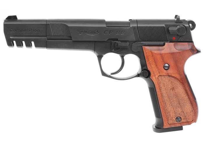 Walther CP88, Blued, 6 inch Barrel, CO2 Pistol