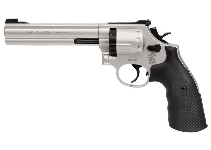 Smith Wesson 686 6 Inch Revolver Air Guns