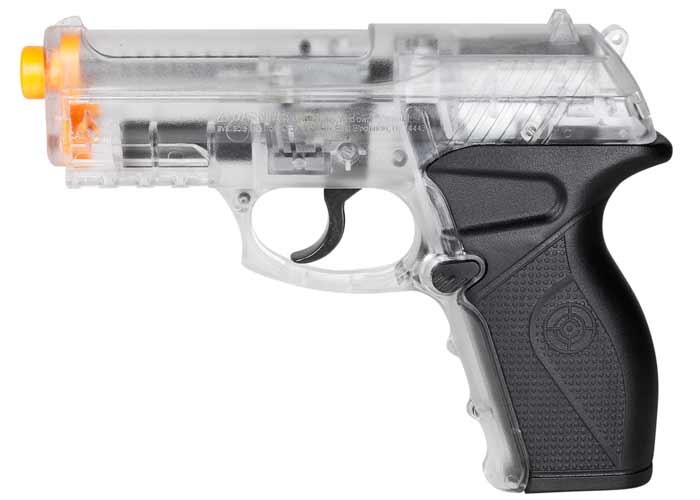 Crosman Air Mag C11 Clear CO2 Powered Airsoft gun 6mm Image