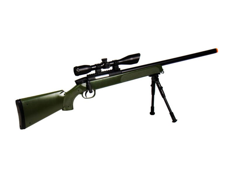 UTG Master Sniper Airsoft  Rifle, Green