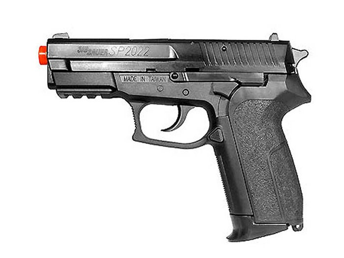 SIG Sauer SP2022 CO2 Airsoft Pistol, Black