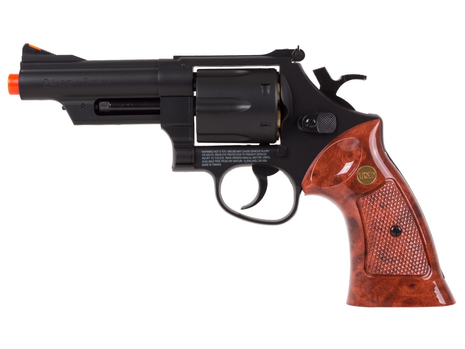 Cheap TSD UHC UG131B Airsoft Gas Revolver 4 inch 6mm