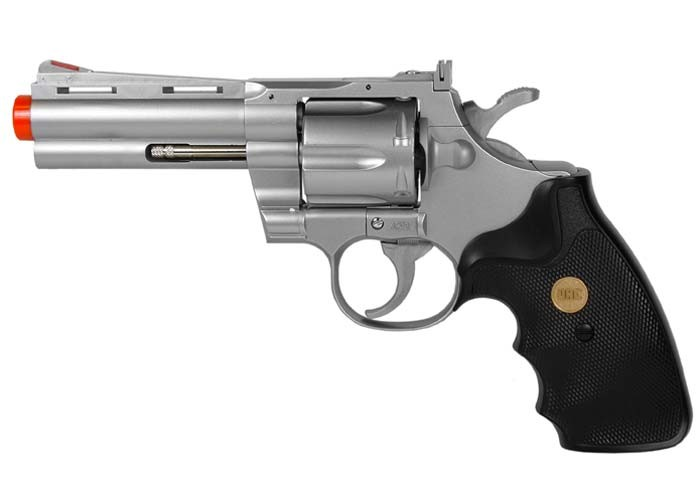 TSD 937 UHC 4 inch revolver, Silver
