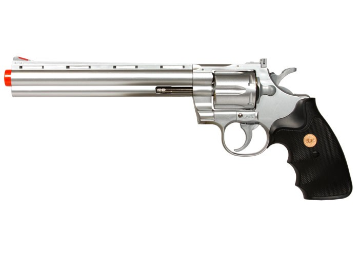 TSD 941 UHC 8 inch revolver, Silver