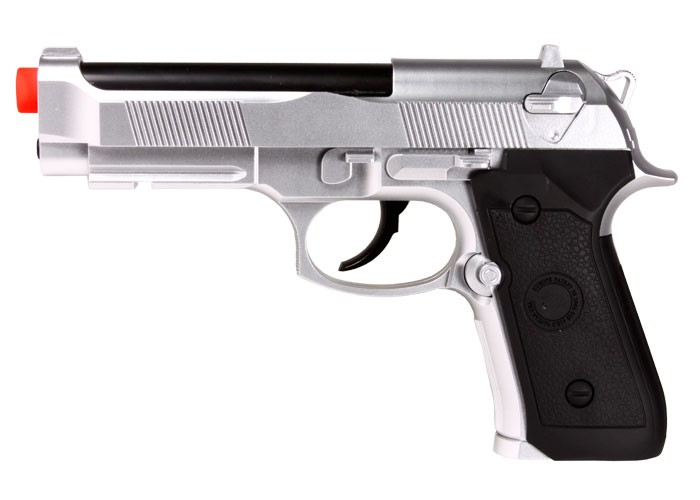 Tactical M92 CO2 Version, Silver
