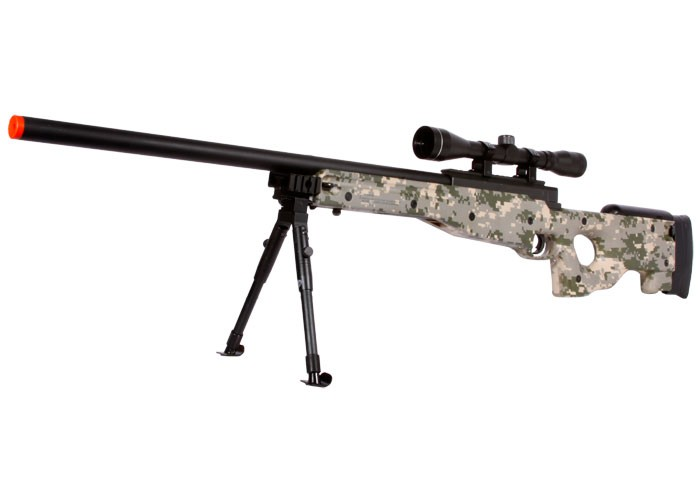 UTG Type 96 Airsoft Sniper Rifle, Army Digital